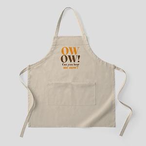 OW! OW! Apron