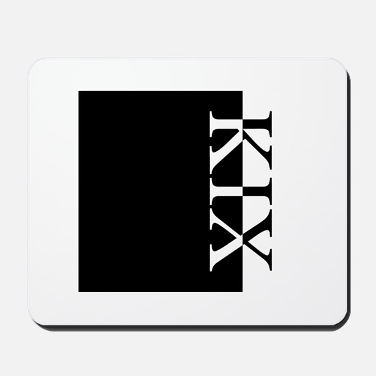KIX Typography Mousepad