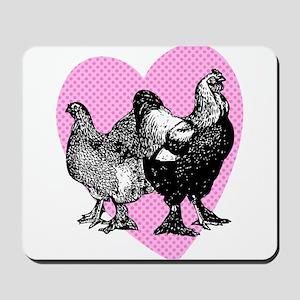 Chicken Heart Mousepad