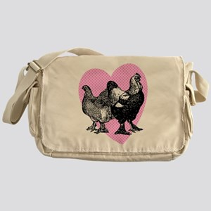 Chicken Heart Messenger Bag