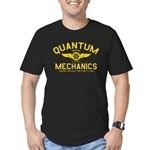 QUANTUM MECHANICS Men's Fitted T-Shirt (dark)