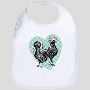 Chicken Heart Bib