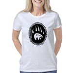 Tribal Bear Claw Art  Women's Classic T-Shirt