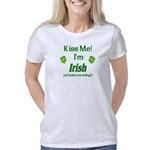 Kiss Me I'm Irish today Women's Classic T-Shirt