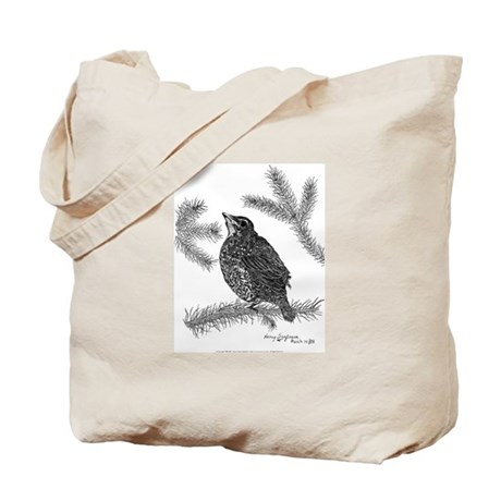 Robin Pen & Ink Tote Carrying Bag