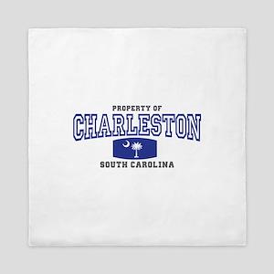 Charleston South Carolina Queen Duvet