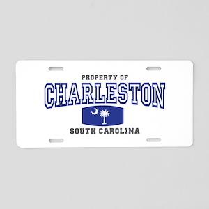 Charleston South Carolina Aluminum License Plate