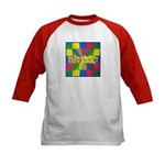 Autism Awareness Blocks Kids Baseball Jersey