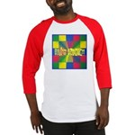 Autism Awareness Blocks Baseball Jersey