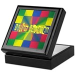 Autism Awareness Blocks Keepsake Box