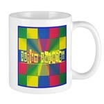 Autism Awareness Blocks Mug
