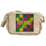 Autism Awareness Blocks Messenger Bag