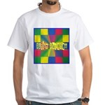 Autism Awareness Blocks White T-Shirt