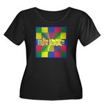 Autism Awareness Blocks Women's Plus Size Scoop Ne