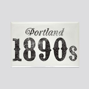 Portland 1890s Rectangle Magnet