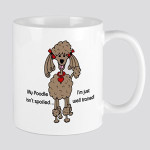 Chocolate Poodle Mug