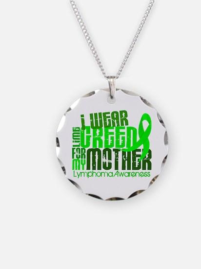 I Wear Lime 6.4 Lymphoma Necklace