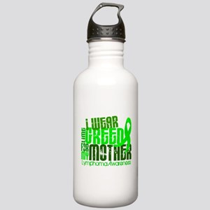 I Wear Lime 6.4 Lymphoma Stainless Water Bottle 1.