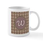 Prairie Paisley Monogram Mug