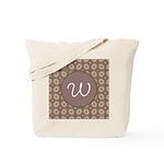 Prairie Paisley Monogram Tote Bag