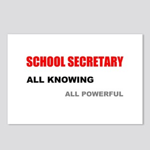 School Sec. All Knowing All P Postcards (Package o