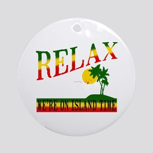 Relax Ornament (Round)