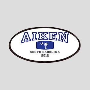 Aiken South Carolina, SC, Palmetto Flag Patches