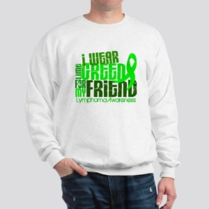 I Wear Lime 6.4 Lymphoma Sweatshirt