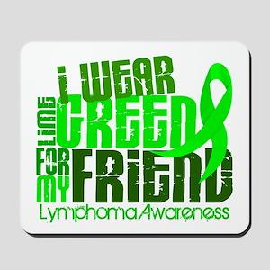 I Wear Lime 6.4 Lymphoma Mousepad