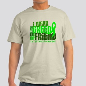 I Wear Lime 6.4 Lymphoma Light T-Shirt