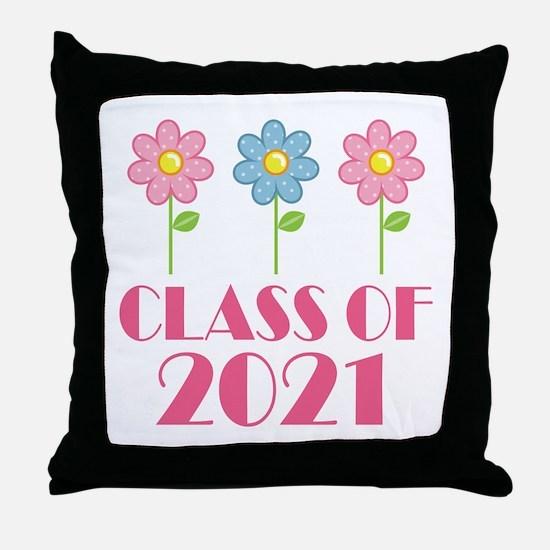 2021 School Class Throw Pillow