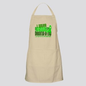 I Wear Lime 6.4 Lymphoma Apron