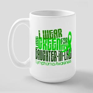 I Wear Lime 6.4 Lymphoma Large Mug