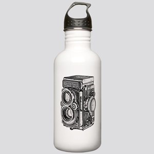 Vintage Camera- Stainless Water Bottle 1.0L