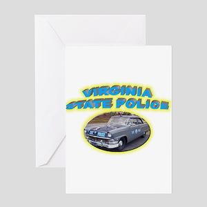 Virginia State Police Greeting Card
