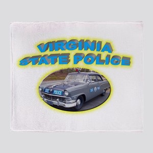 Virginia State Police Throw Blanket