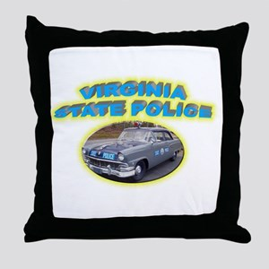 Virginia State Police Throw Pillow