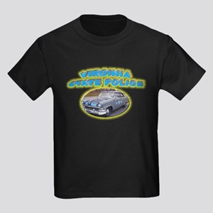 Virginia State Police Kids Dark T-Shirt
