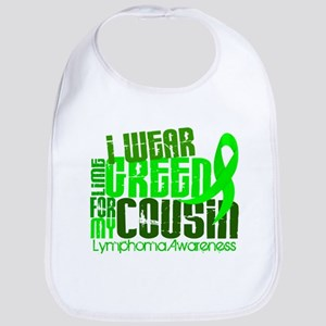 I Wear Lime 6.4 Lymphoma Bib
