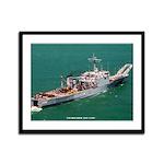 USS BOULDER Framed Panel Print