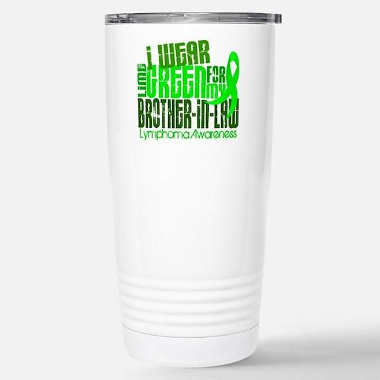 I Wear Lime 6.4 Lymphoma Stainless Steel Travel Mu