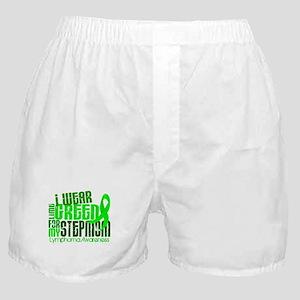 I Wear Lime 6.4 Lymphoma Boxer Shorts
