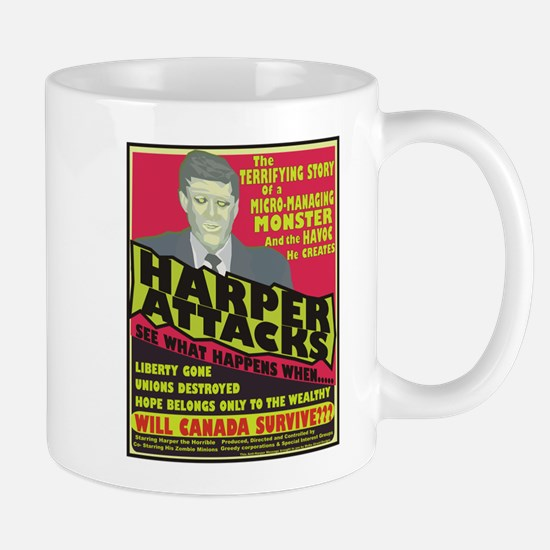 Harper Attacks / Mug