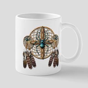Labradorite Spider Dreamcatcher Mug