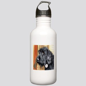 Black Labradoodle Ralph Stainless Water Bottle 1.0
