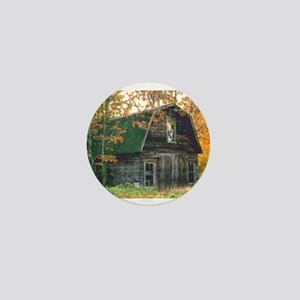 Autumn Barn Mini Button