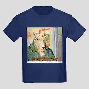 Vincent Van Goat Kids Dark T-Shirt