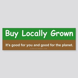 Buy Locally Grown Sticker (Bumper)