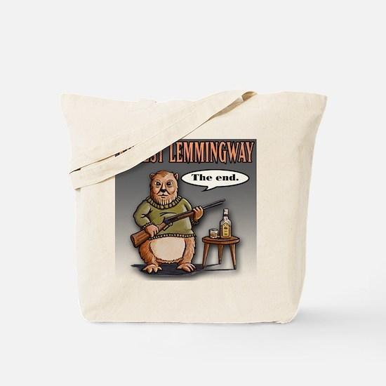 Cute Hemingway Tote Bag