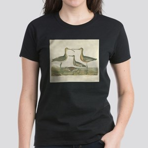 Antique Birds Coastal Marsh T-Shirt